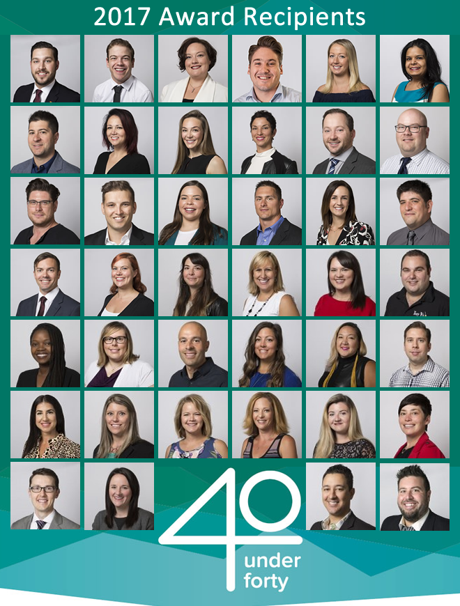 40 Under Forty Winners